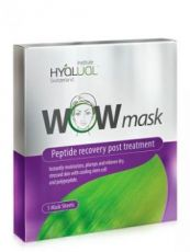 HYALUAL WOW mask гидрогелевая пептидная маска